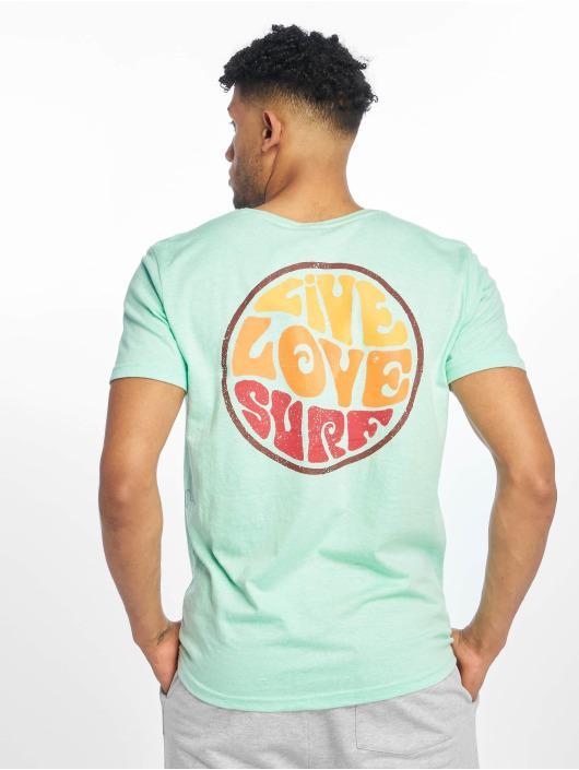 Stitch & Soul T-Shirt Surf turquoise