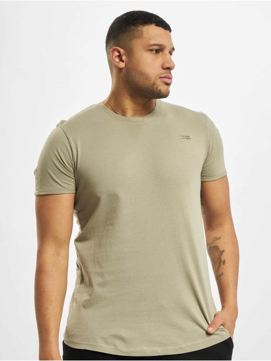 Stitch & Soul T-shirt Natural verde