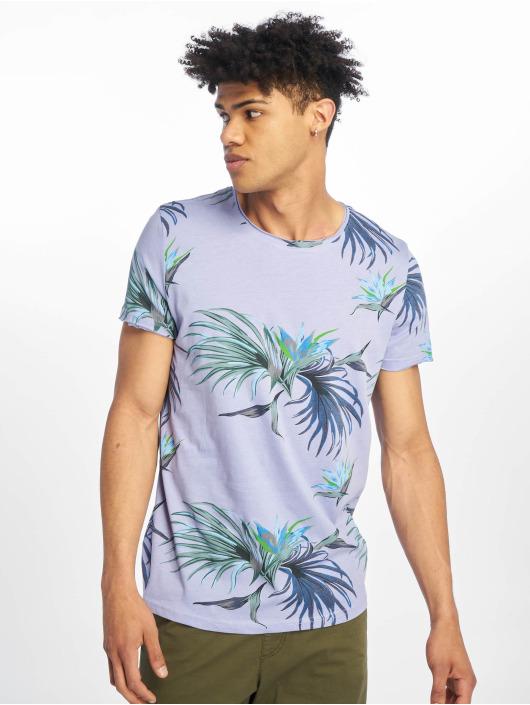Stitch & Soul T-Shirt Floral violet