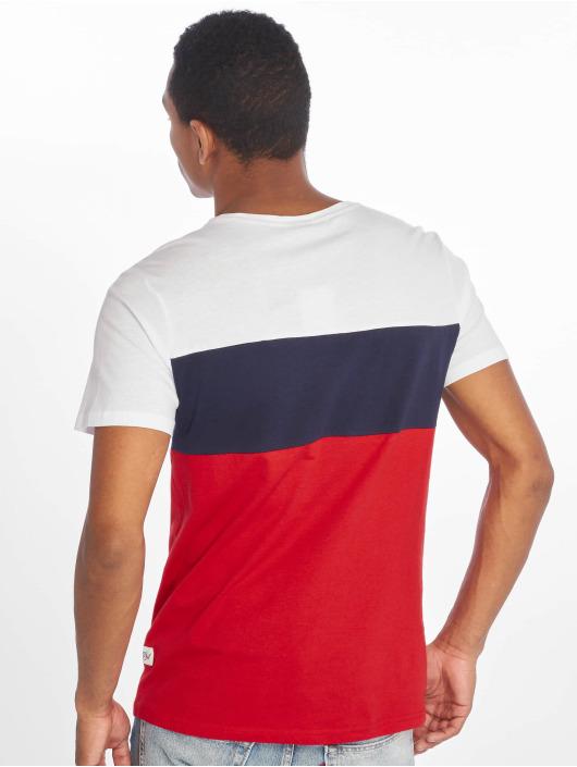 Stitch & Soul T-Shirt Colourblock weiß