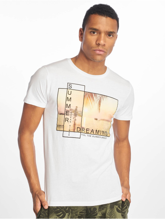Stitch & Soul T-Shirt Summer Dreaming weiß