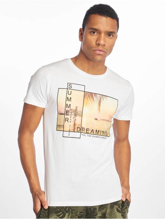 Stitch & Soul T-Shirt Summer Dreaming white