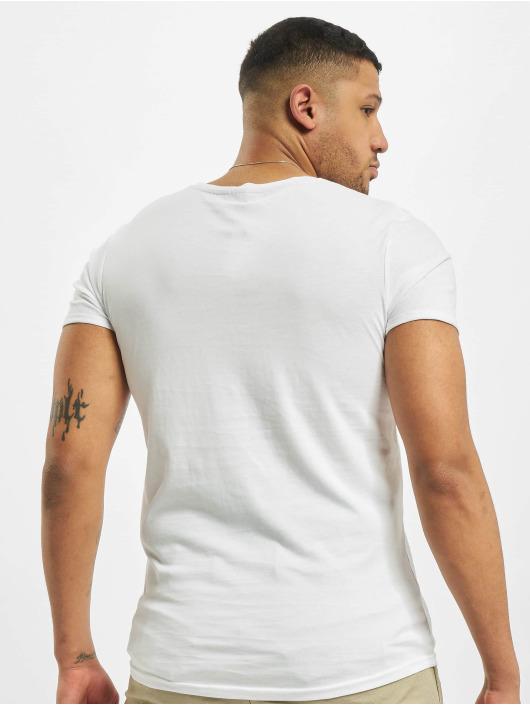 Stitch & Soul t-shirt Natural wit