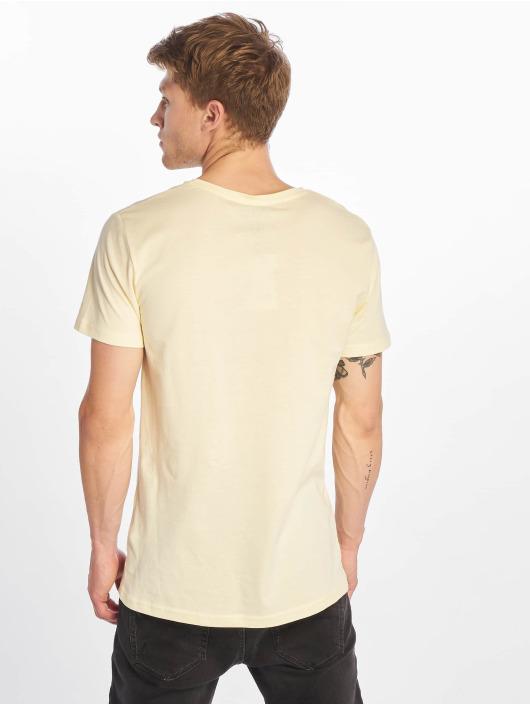 Stitch & Soul T-Shirt Palm Springs yellow