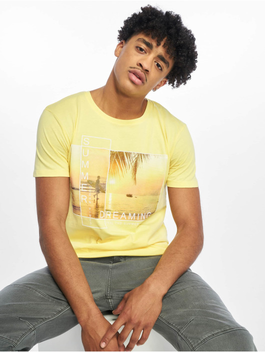 Stitch & Soul T-Shirt Summer Dreaming yellow