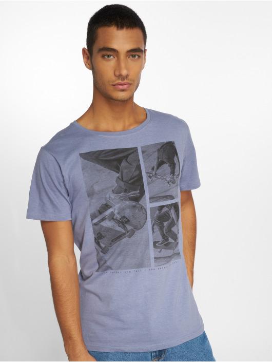Stitch & Soul T-shirts Print blå