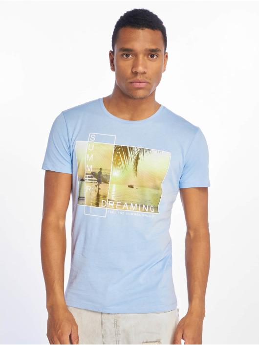 Stitch & Soul T-shirts Summer Dreaming blå