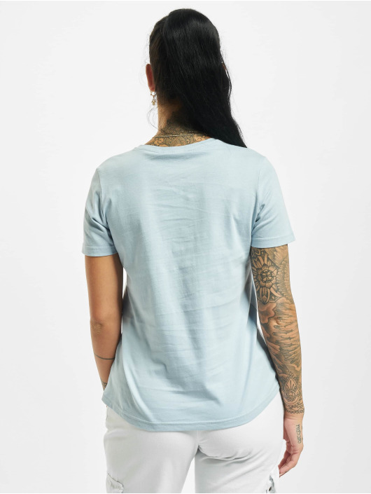 Stitch & Soul T-shirts Hearted blå