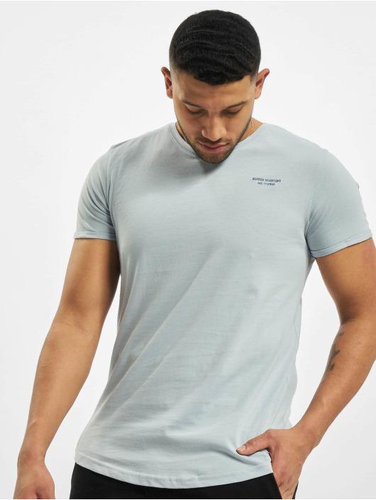 Stitch & Soul T-shirts Natural blå