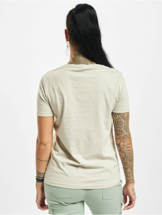 Stitch & Soul T-Shirty Hearted bezowy