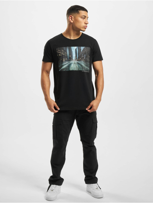 Stitch & Soul T-Shirty Adventure czarny