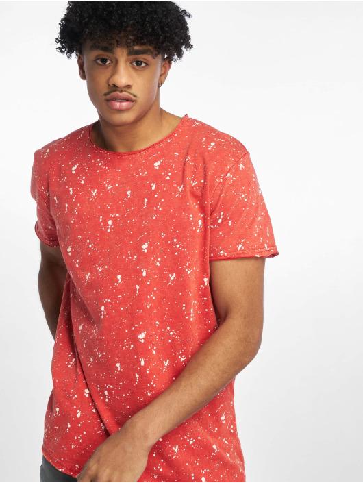 Stitch & Soul T-Shirty Sprinkled czerwony