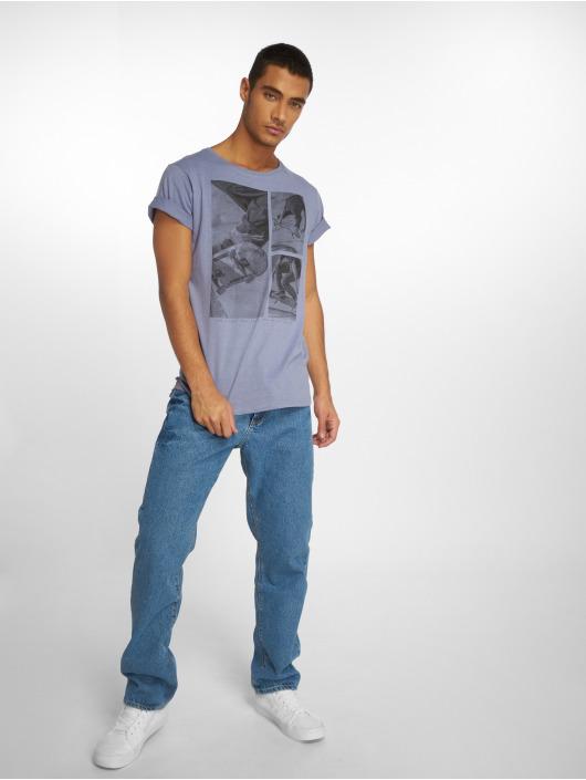 Stitch & Soul T-Shirty Print niebieski