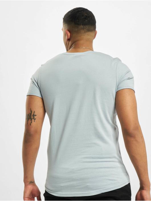 Stitch & Soul T-Shirty Natural niebieski