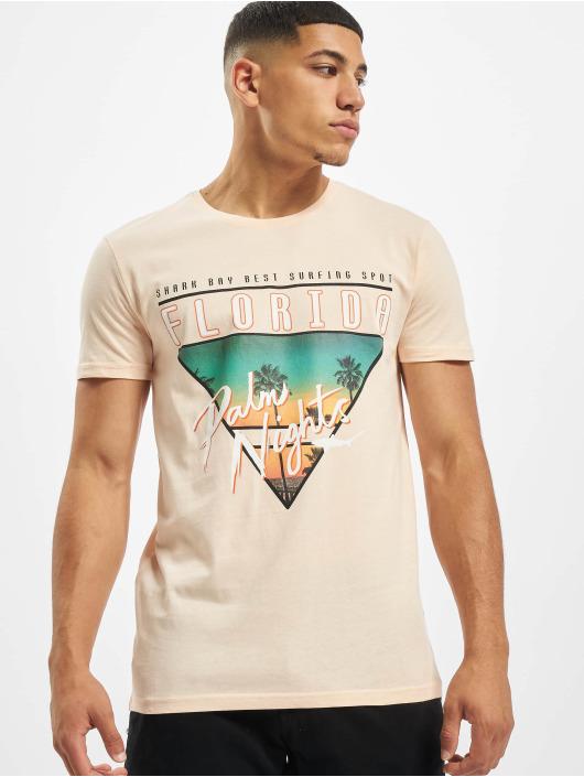 Stitch & Soul T-Shirty Florida rózowy