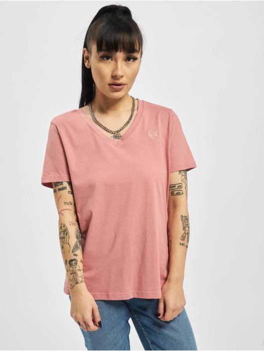 Stitch & Soul T-Shirty Heart Organic Cotton rózowy