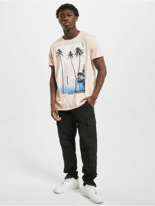 Stitch & Soul T-Shirty Paradise rózowy
