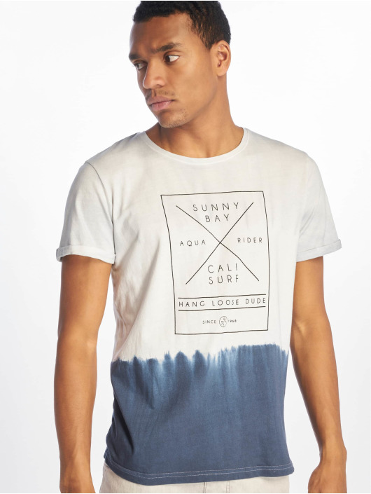 Stitch & Soul T-Shirty Batik szary