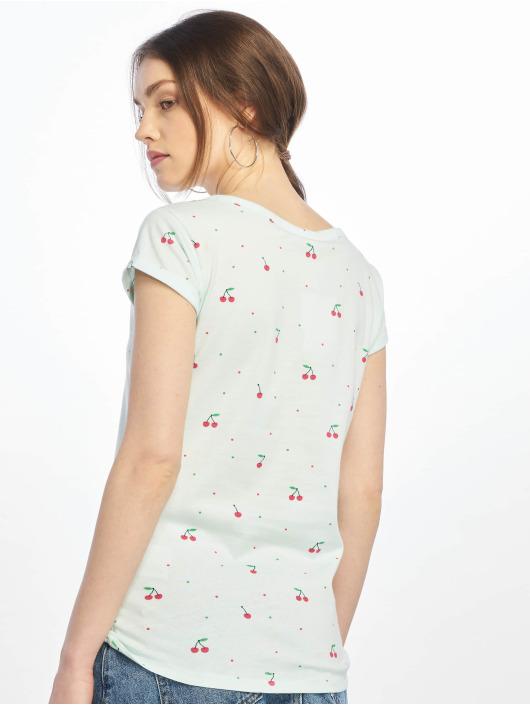 Stitch & Soul T-Shirty Cherry zielony