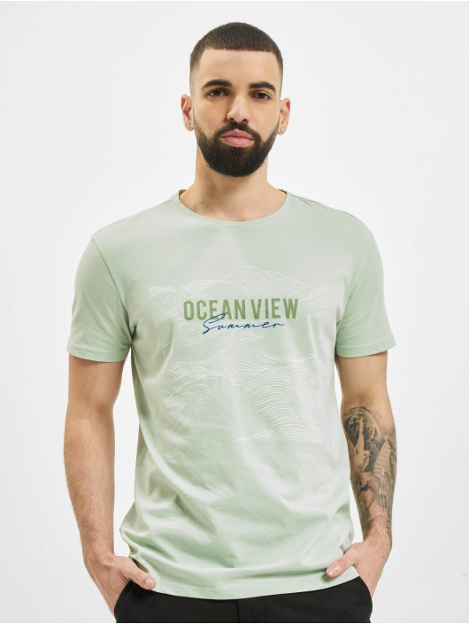 Stitch & Soul T-Shirty Ocean zielony