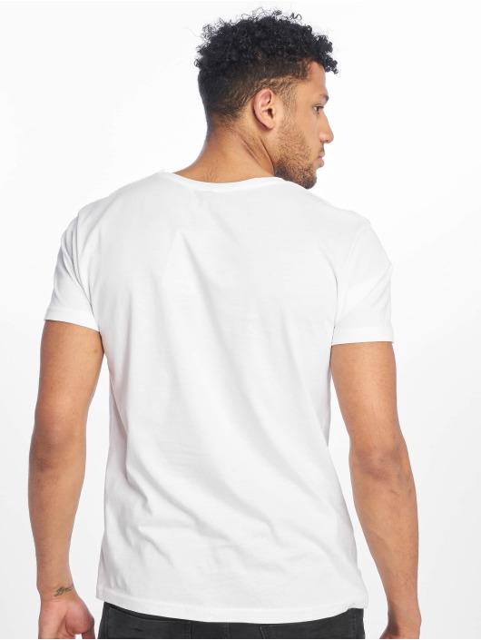 Stitch & Soul T-skjorter Palm Springs hvit
