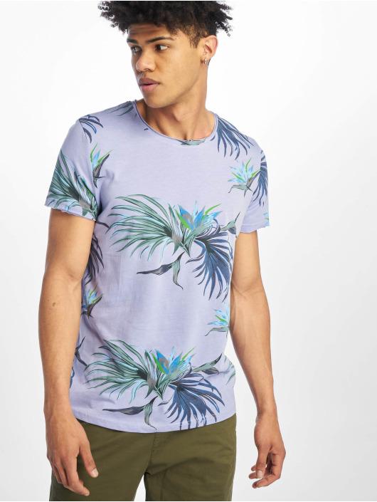 Stitch & Soul T-skjorter Floral lilla