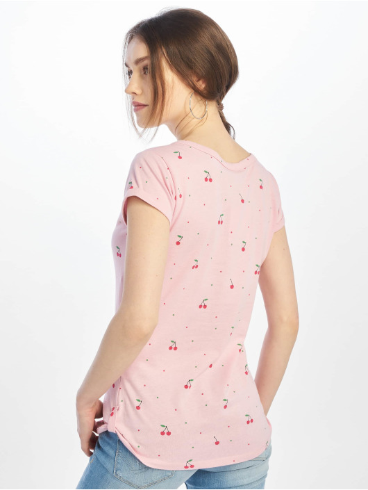 Stitch & Soul T-skjorter Chery rosa