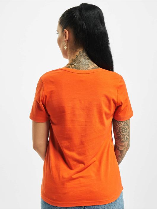 Stitch & Soul Tričká Hearted oranžová