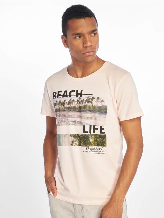 Stitch & Soul Tričká Beach Life ružová