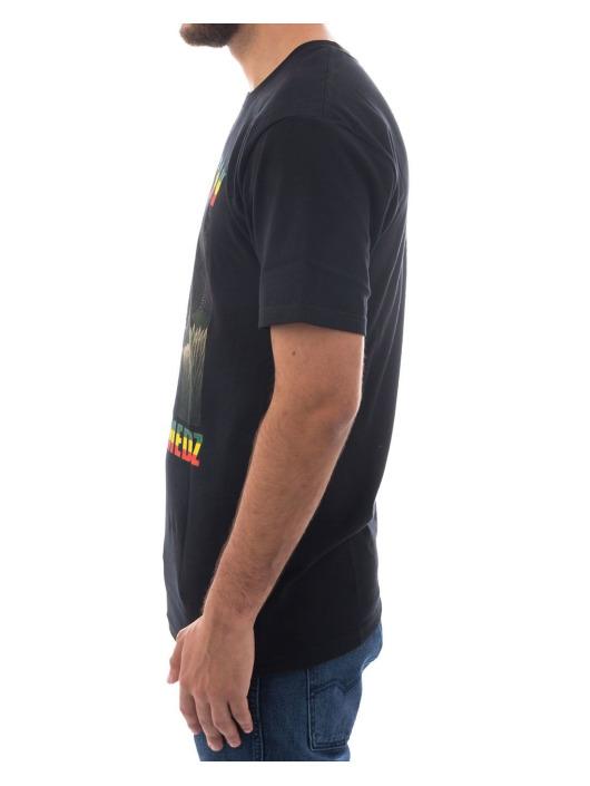 Stüssy T-Shirt Hold The Medz black