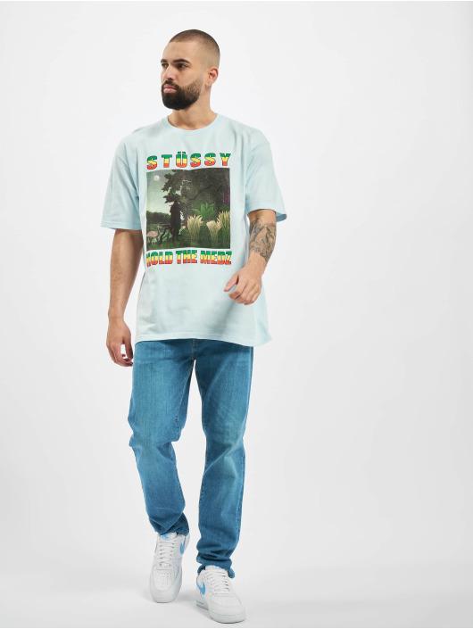 Stüssy T-Shirty 19042262065 niebieski