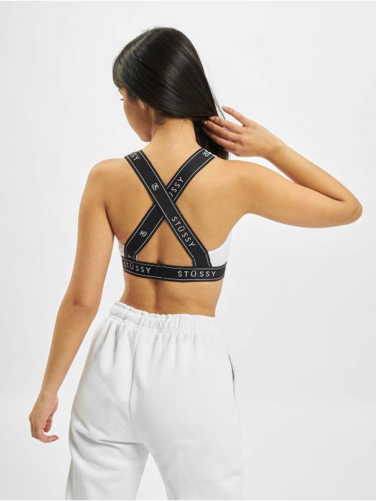 Stüssy Underwear Cross Back white