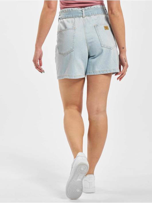 Sublevel Šortky Tie Belt Shorts modrá