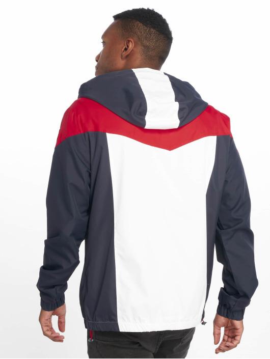 Sublevel Демисезонная куртка Haka Colourblock синий