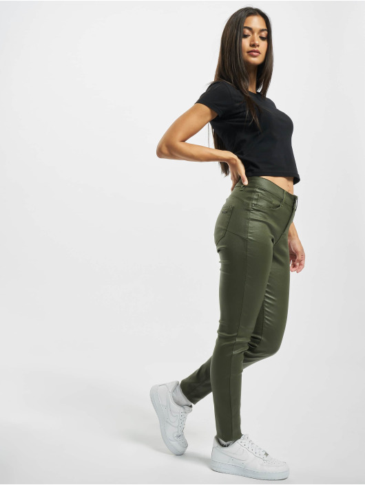 Sublevel Облегающие джинсы Maja зеленый