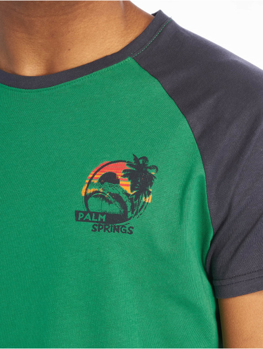 Sublevel Футболка Palm Springs зеленый