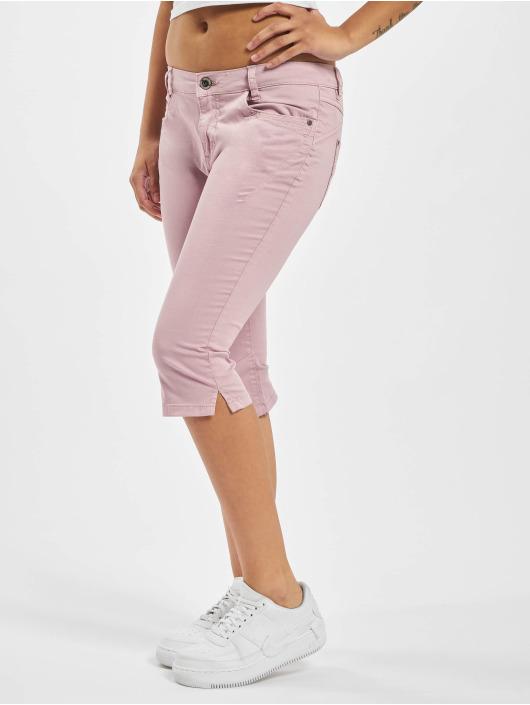 Sublevel Шорты 5-Pocket O-Shape пурпурный