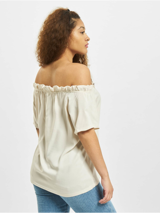 Sublevel Bluse Ruffles beige