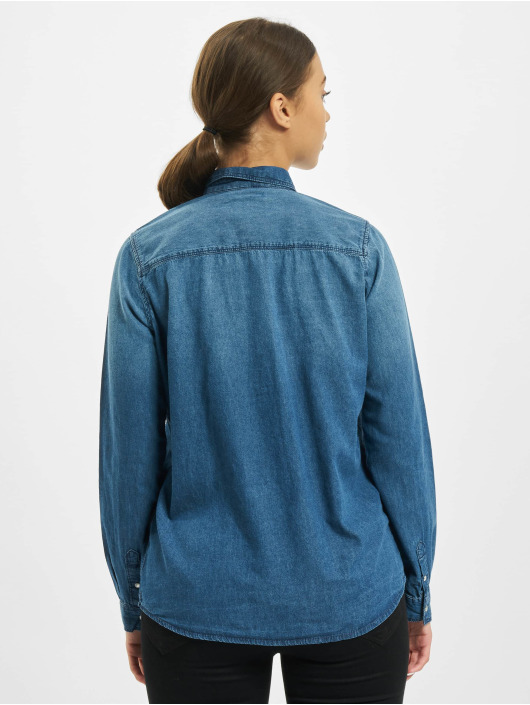 Sublevel Bluse Denim blau