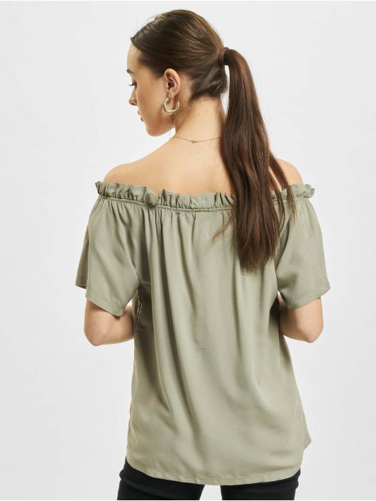 Sublevel Bluse Ruffles grün