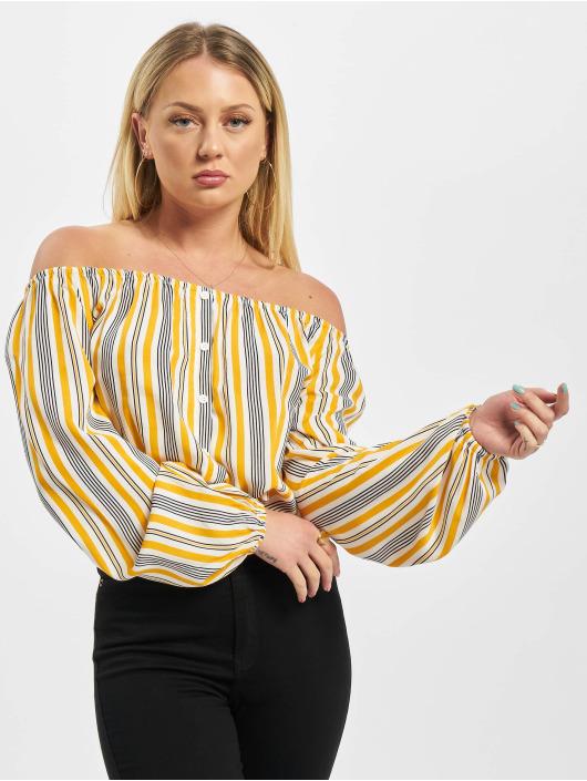 Sublevel Bluse Stripes orange