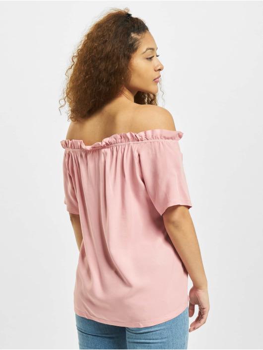 Sublevel Bluse Ruffles rosa