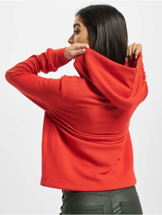 Sublevel Bluzy z kapturem Alina czerwony