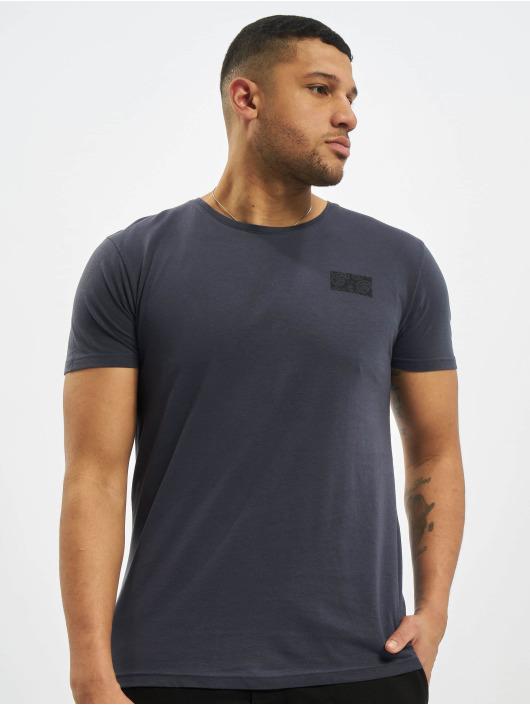 Sublevel Camiseta Paisley azul