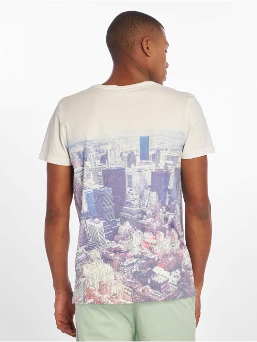 Sublevel Camiseta Vintage blanco