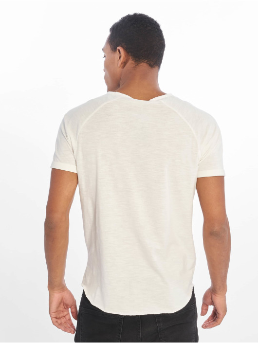 Sublevel Camiseta Raglan blanco
