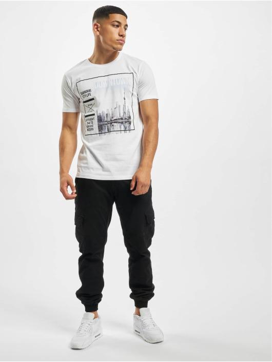 Sublevel Camiseta Graphic blanco