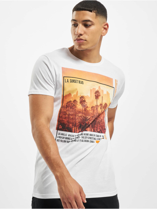 Sublevel Camiseta Downtown blanco