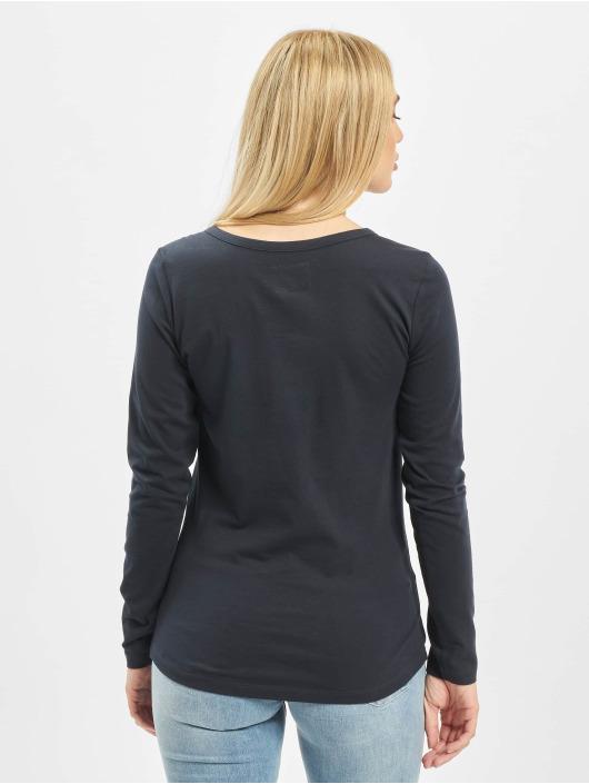 Sublevel Camiseta de manga larga Lace azul