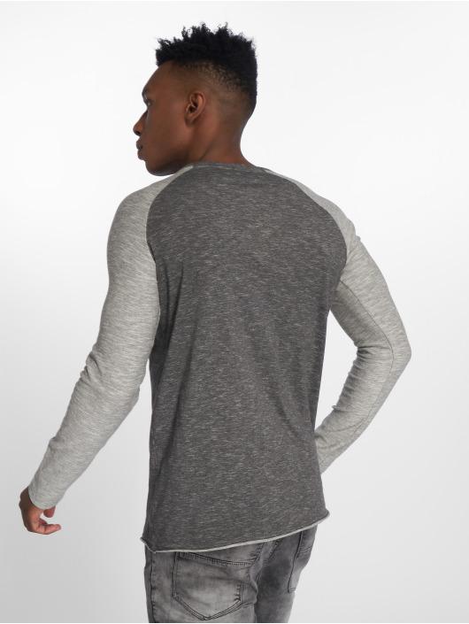 Sublevel Camiseta de manga larga Fynn gris